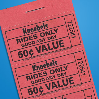 $10.00 Ride Ticket Book 6901201