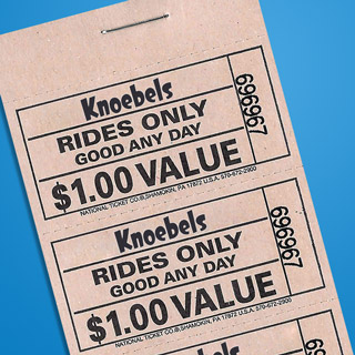 $20.00 Ride Ticket Book