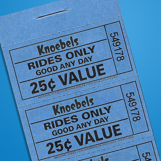 $5.00 Ride Ticket Book