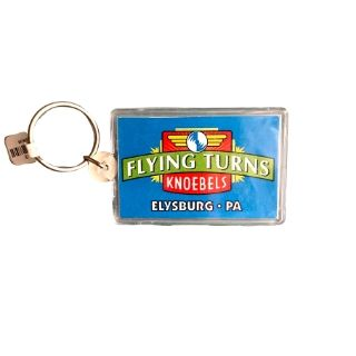 Knoebels Flying Turns Keychain CPI-04/7215