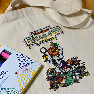 "Hallo-Fun ""Color Your Own"" Tote"