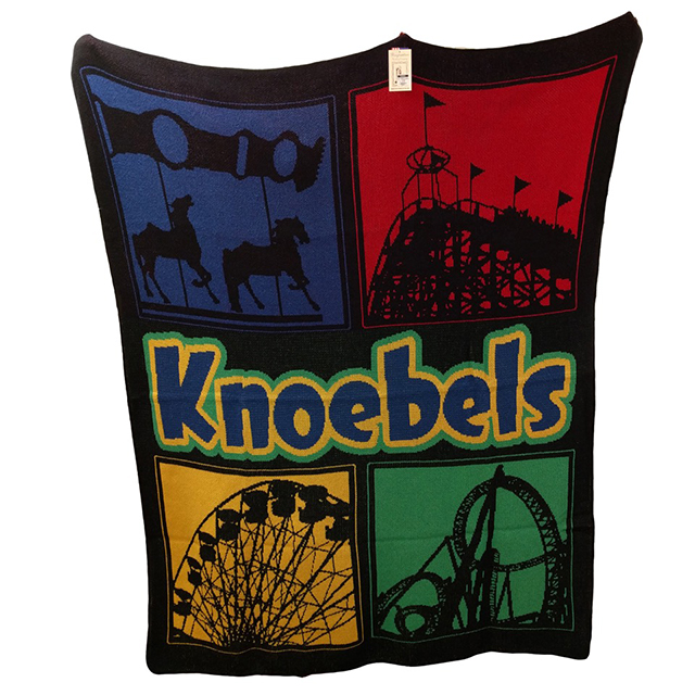 KNOEBELS ICONS THROW 739954