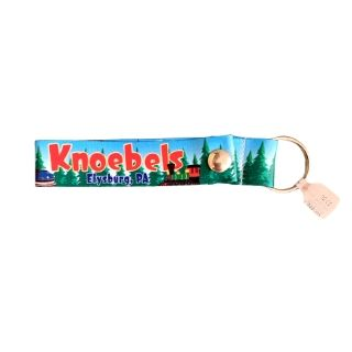 Knoebels Fabric Snap Key Chain FOC-3-2229