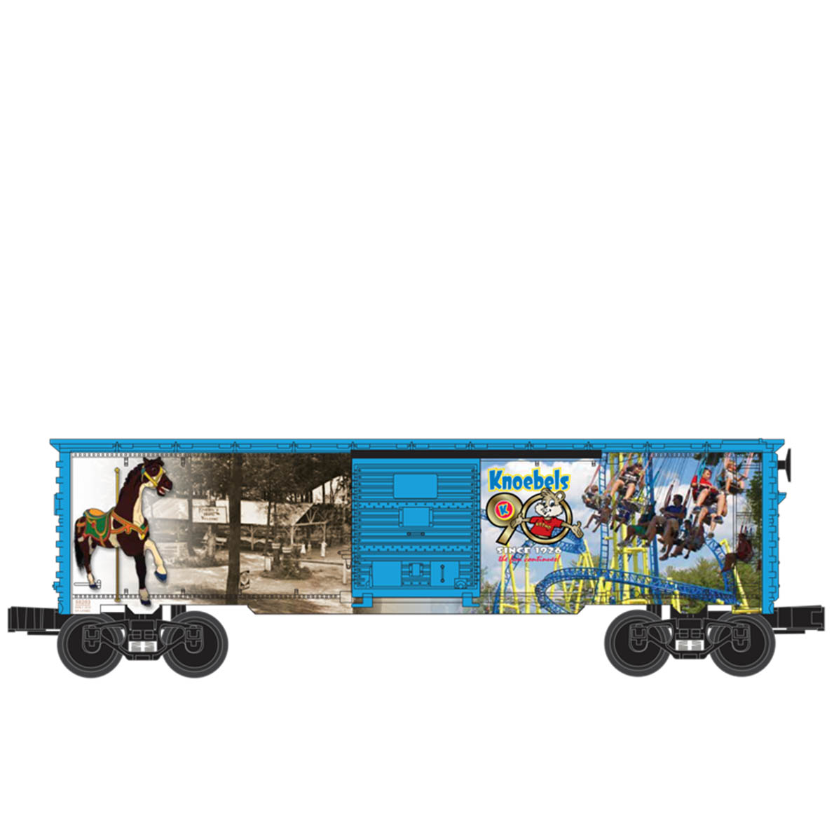 90th Anniversary Boxcar 741307