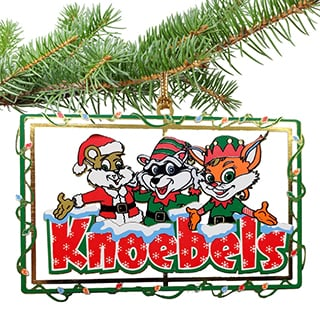 Knoebels Ornament - Brass Christmas Trio