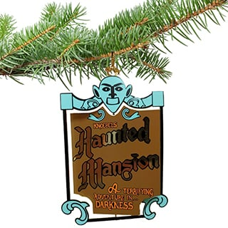 Knoebels Ornament - Brass Haunted Mansion