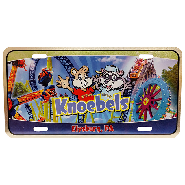 Knoebels Auto Plate