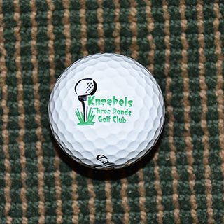 Knoebels Three Ponds Golf Ball 3333338