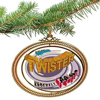 Knoebels Ornament - Twister