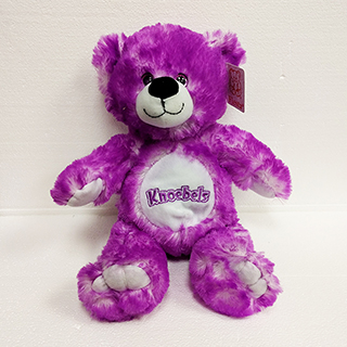 Knoebels Tip Dye Bear Purple